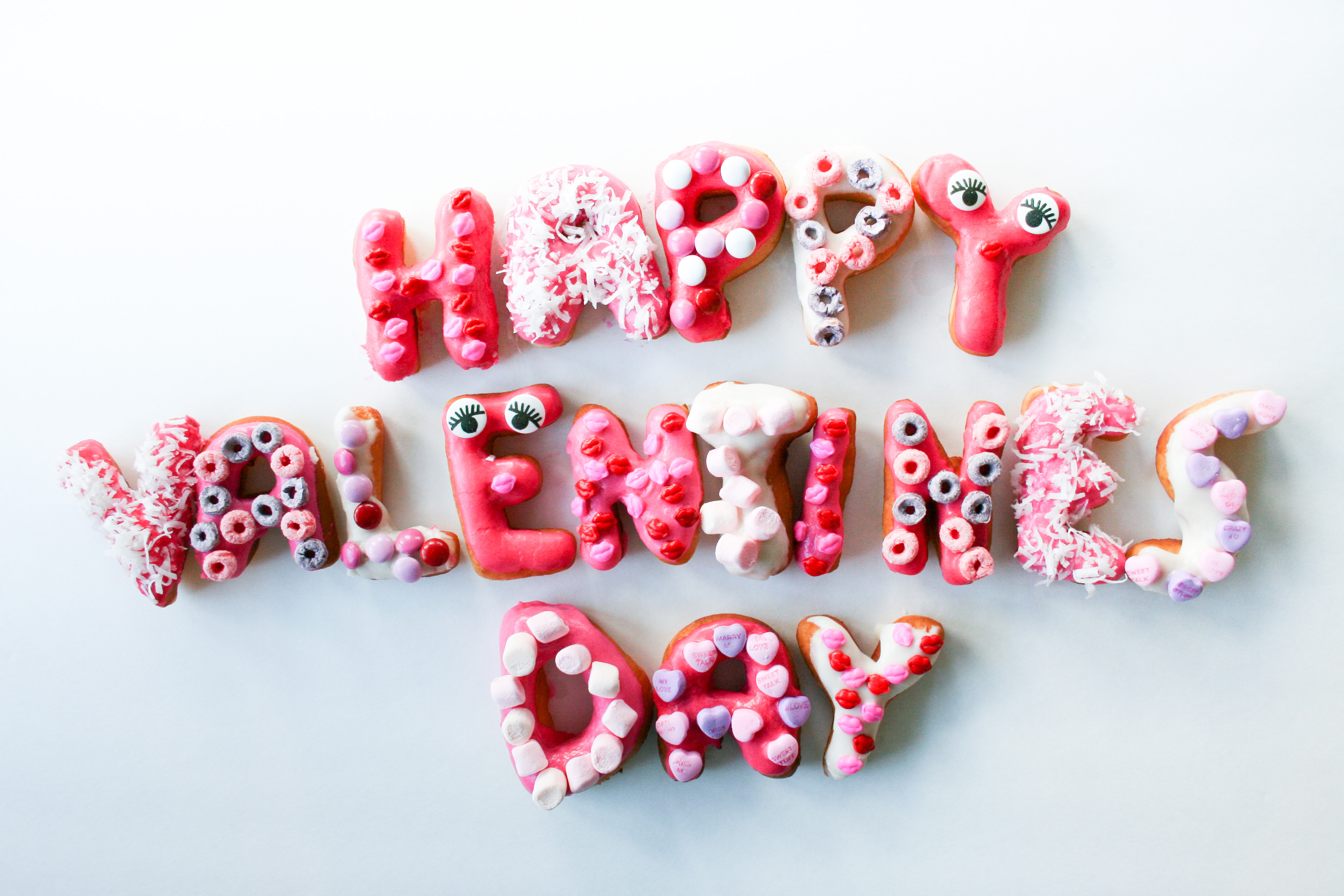Valentines Day Donuts Recipe - Legal Miss Sunshine