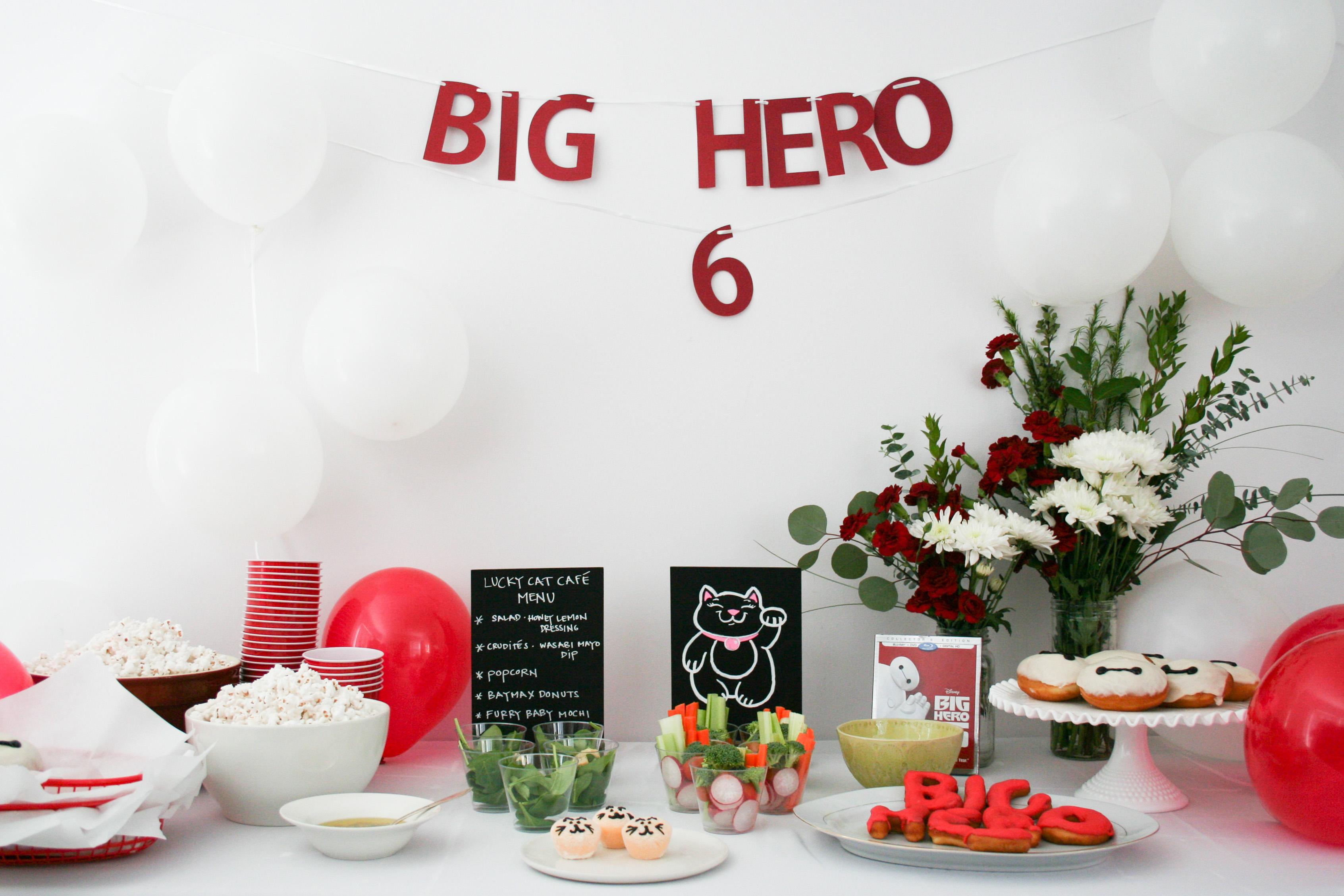 Big Hero 6 Movie Night Baymax Donuts - Legal Miss Sunshine