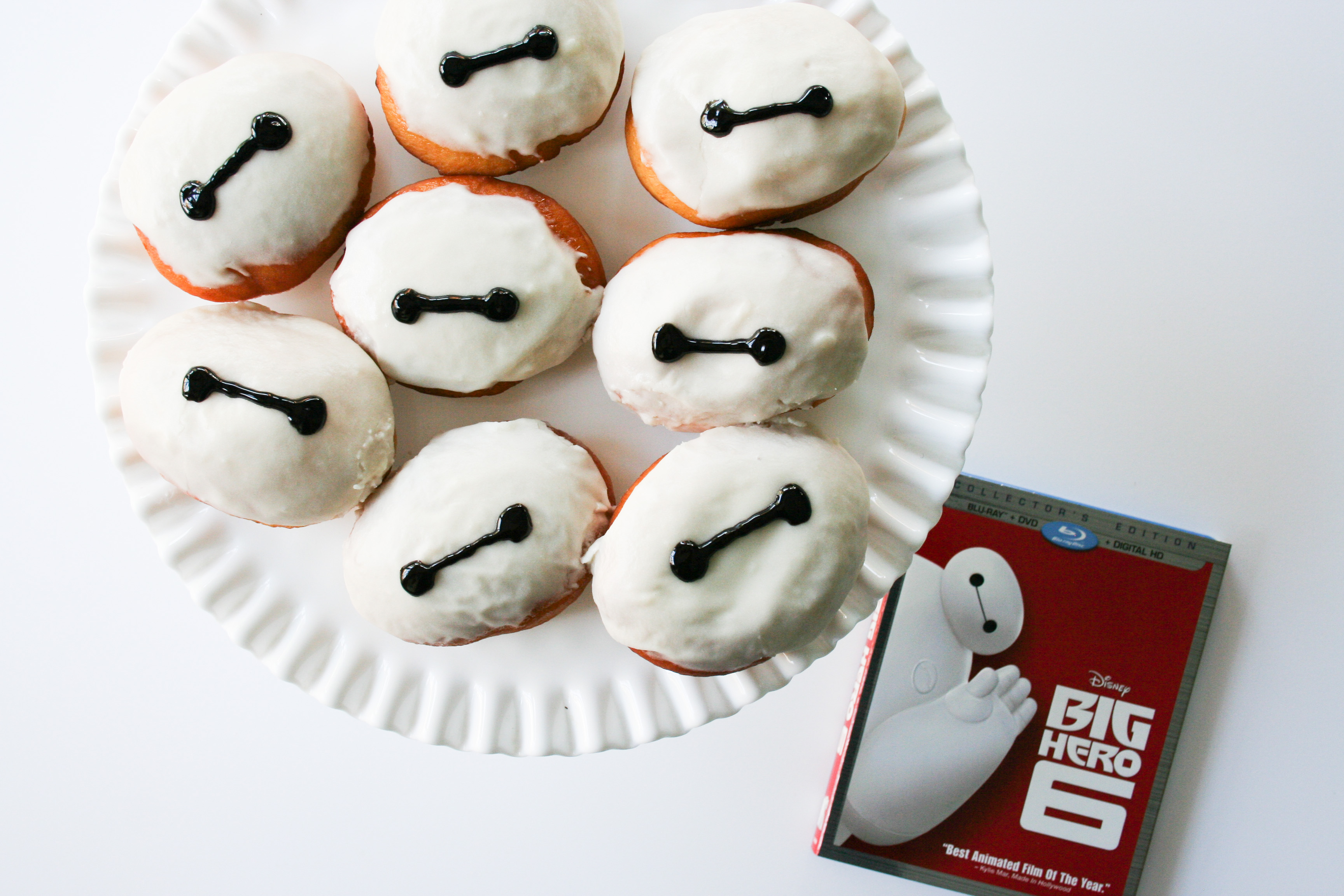 Big Hero 6 Movie Night Baymax Donuts - Legal Miss Sunshine