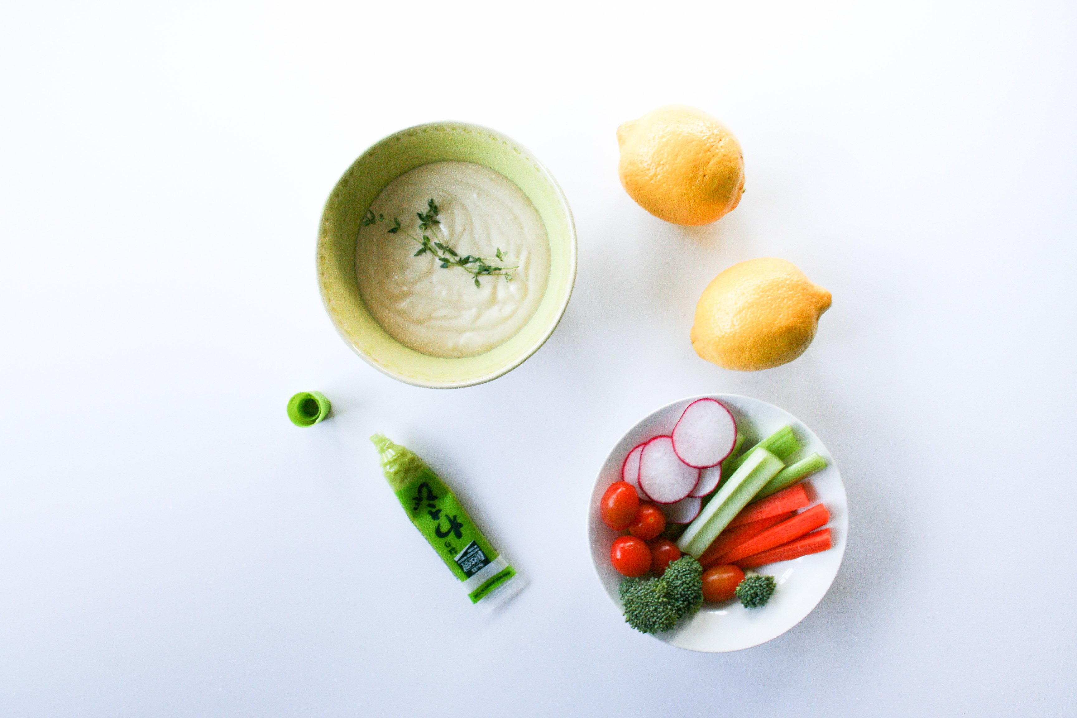 Wasabi Veggie Dip Recipe - Legal Miss Sunshine