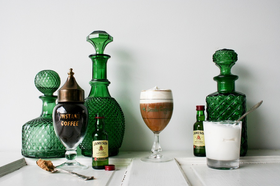 Irish Coffee Recipe - Legal Miss Sunshine