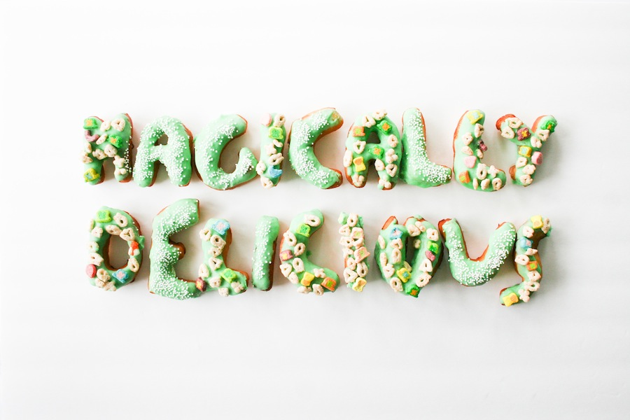 Lucky Charms Donuts - Legal Miss Sunshine