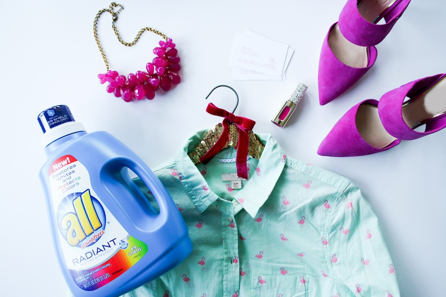 DIY Sequin Clothes Hanger - Legal Miss Sunshine