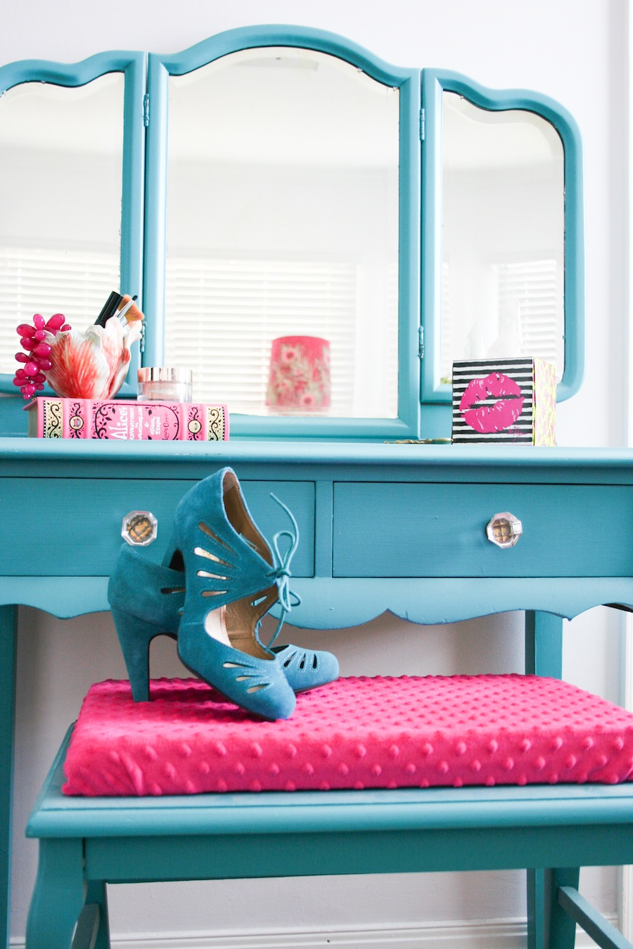Dressing Room Makeover - Legal Miss Sunshine