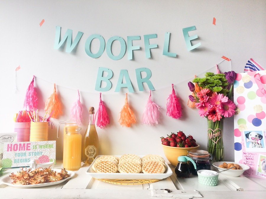Mothers Day Brunch From The Dogs - Wooffle Bar - Legal Miss Sunshine