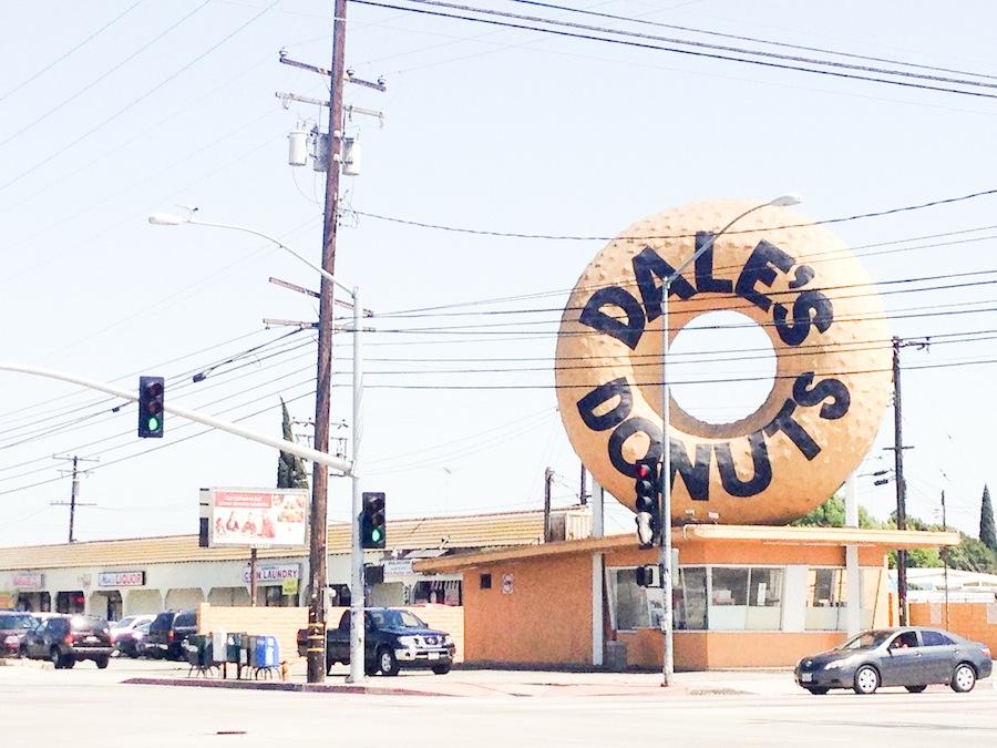 Donut Crawl Los Angeles Big Donuts - Legal Miss Sunshine