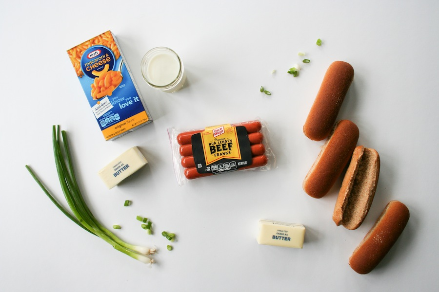 Mac and Cheese Hot Dog Recipe // Legal Miss Sunshine