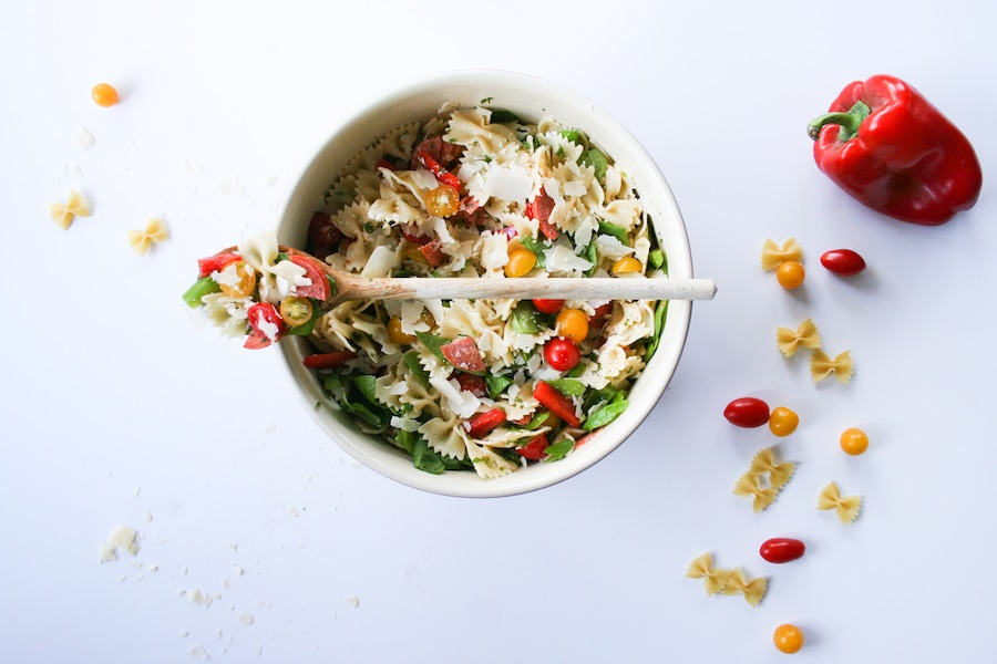 Italian Farfalle Salad // Legal Miss Sunshine