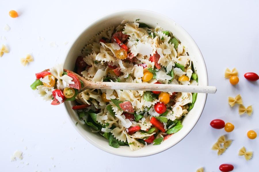 Italian Farfalle Salad // Legal Miss Sunshine