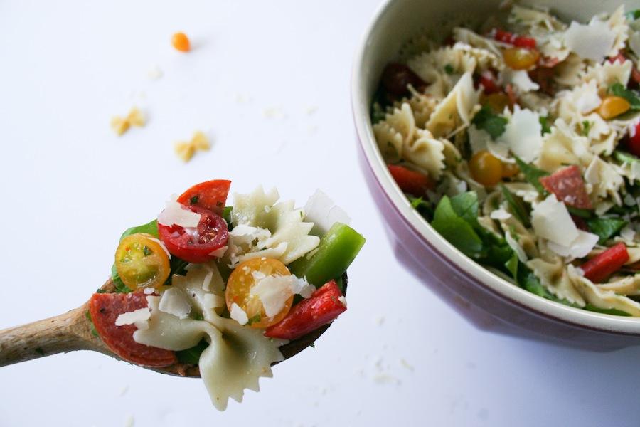 Bowtie Pasta Salad // Legal Miss Sunshine