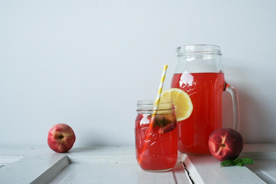 Porch Peach Iced Tea Recipe // Legal Miss Sunshine