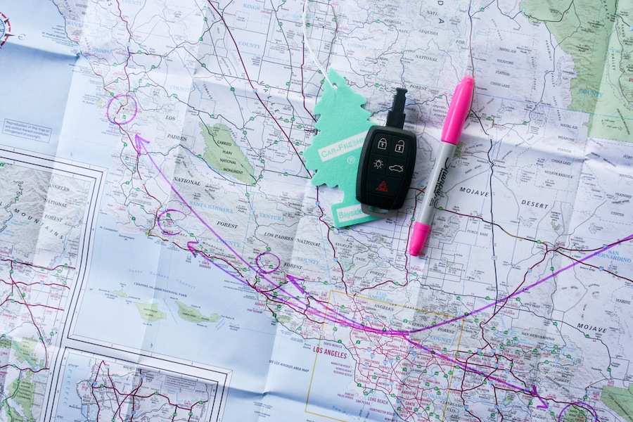 5 Weekend Road Trips from Los Angeles // Legal Miss Sunshine