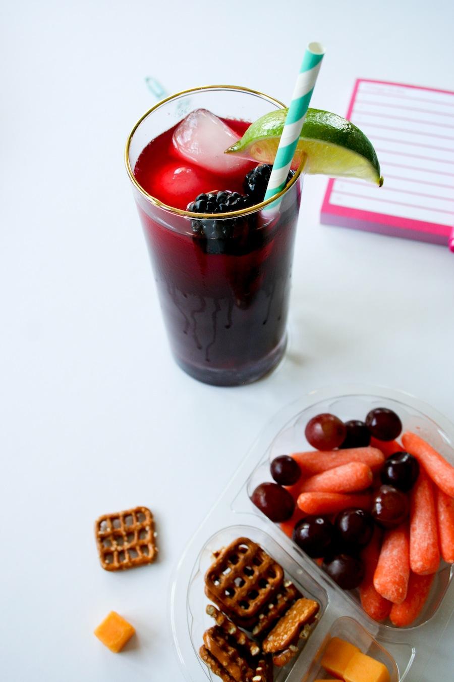 Blackberry Limeade Recipe // Legal Miss Sunshine