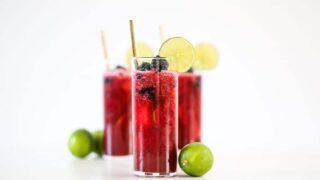 Blackberry Limeade // Salty Canary