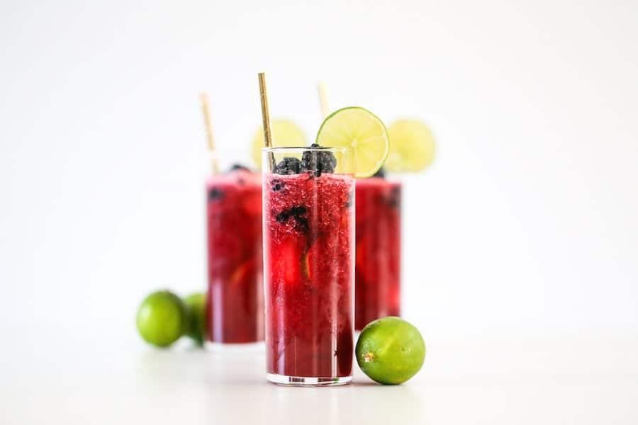 Blackberry Limeade // Salty Canary