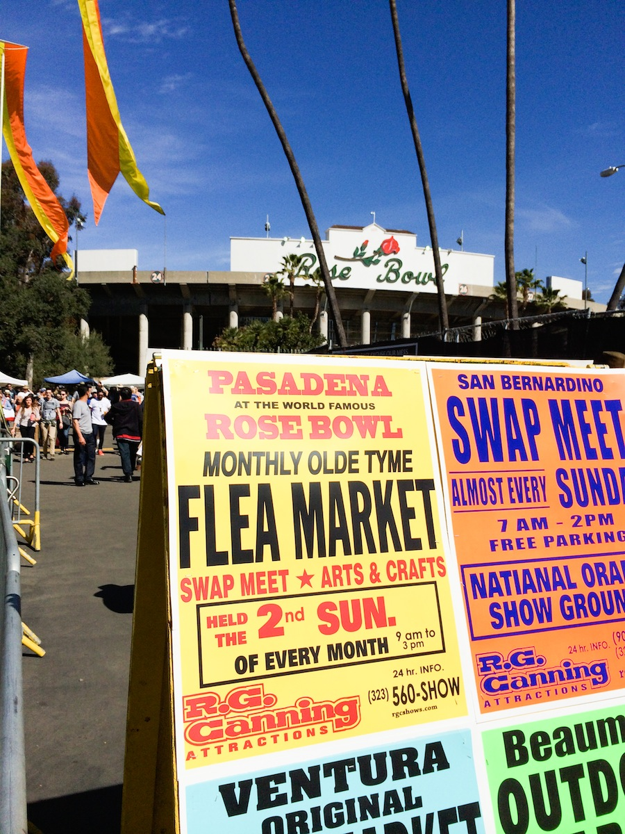 Flea Market Tips // Legal Miss Sunshine