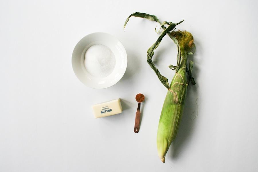 Cinnamon Sugar Butter Grilled Corn Recipe // Legal Miss Sunshine