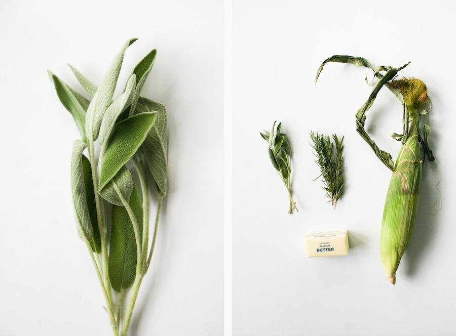 Herbed Butter Grilled Corn Recipe // Legal Miss Sunshine