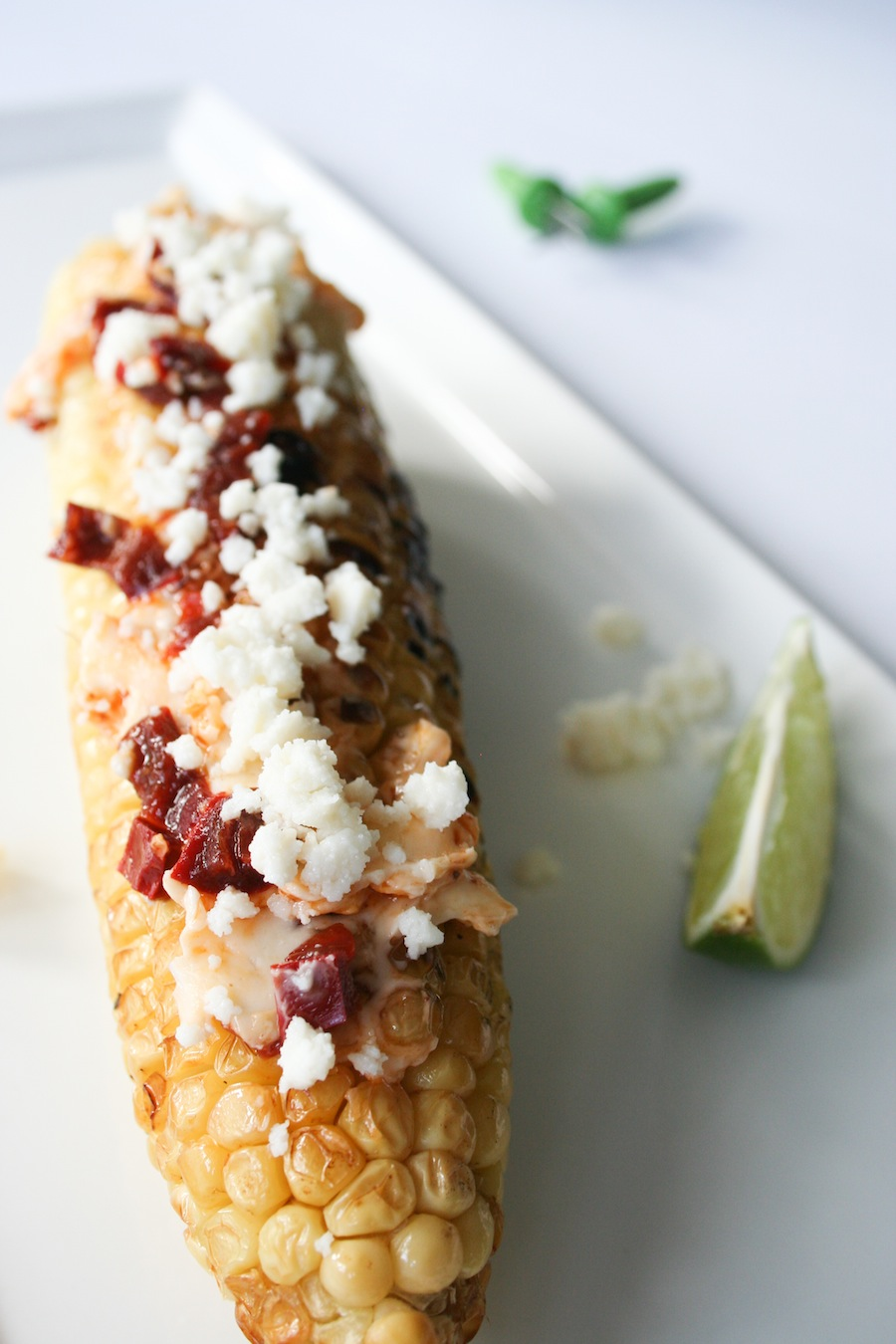 Chipotle Butter Grilled Corn Recipe // Legal Miss Sunshine