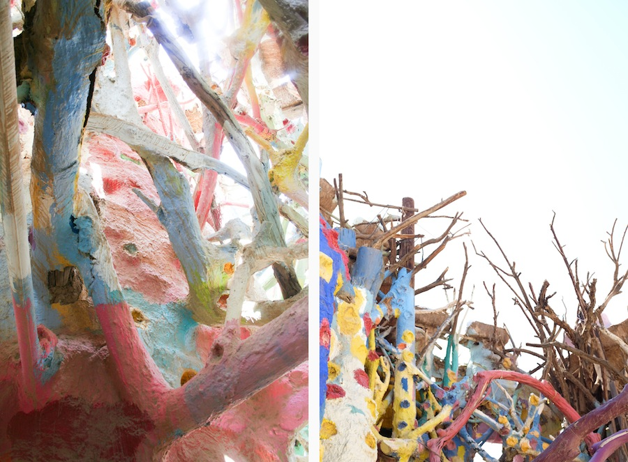 Salvation Mountain // Salton Sea // Legal Miss Sunshine