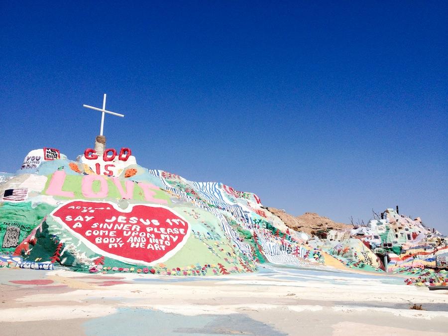 Salvation Mountain // Salton Sea // Legal Miss Sunshine