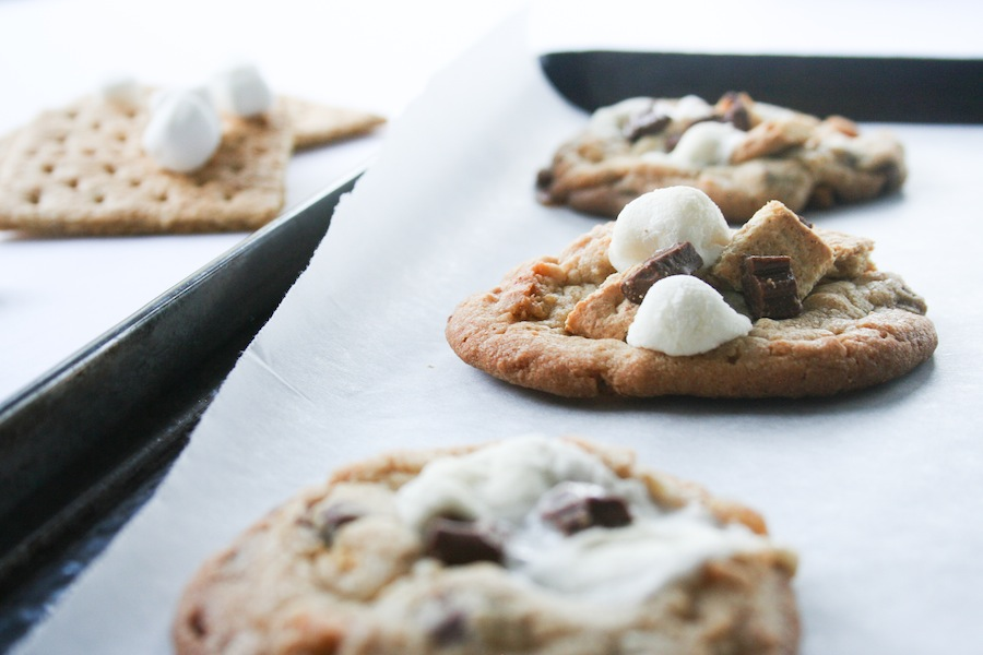 S'mores Cookies Recipe // Legal Miss Sunshine