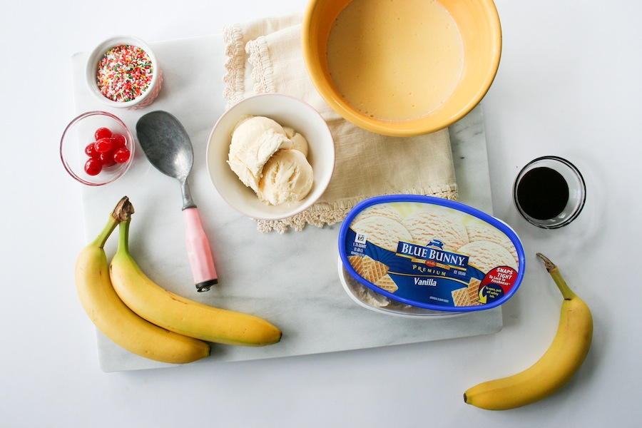 Banana Cream Split In A Jar Recipe // Legal Miss Sunshine