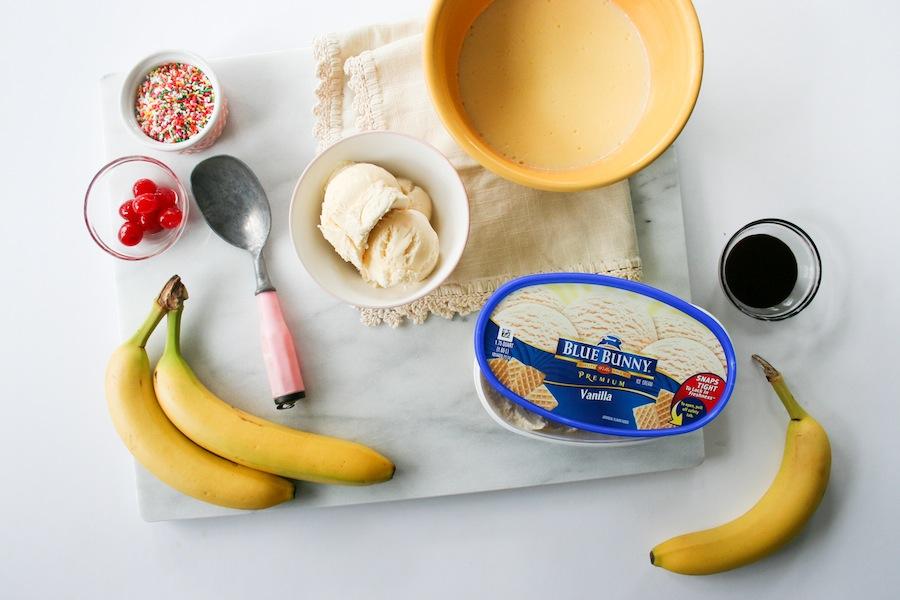Banana Cream Split In A Jar Recipe // Legal Miss Sunshine