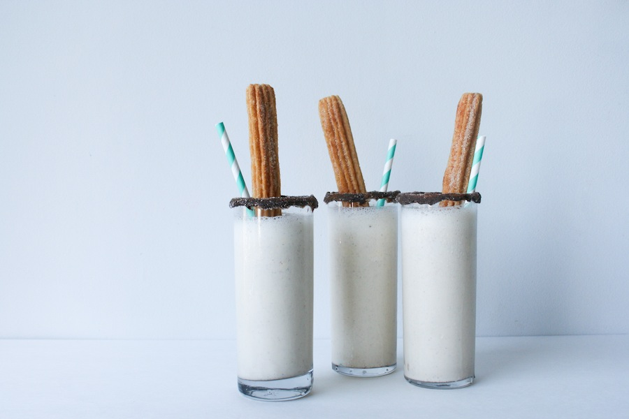Churro Milkshake Recipe // Legal Miss Sunshine