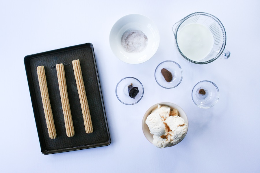 Churro Milkshake Recipe // Legal Miss Sunshine