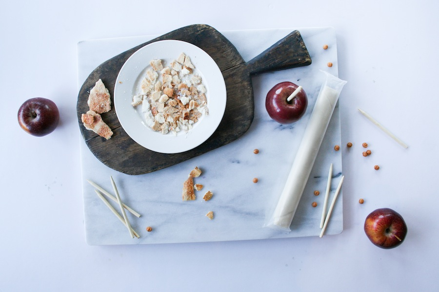 Apple Pie Caramel Apple Recipe // Legal Miss Sunshine