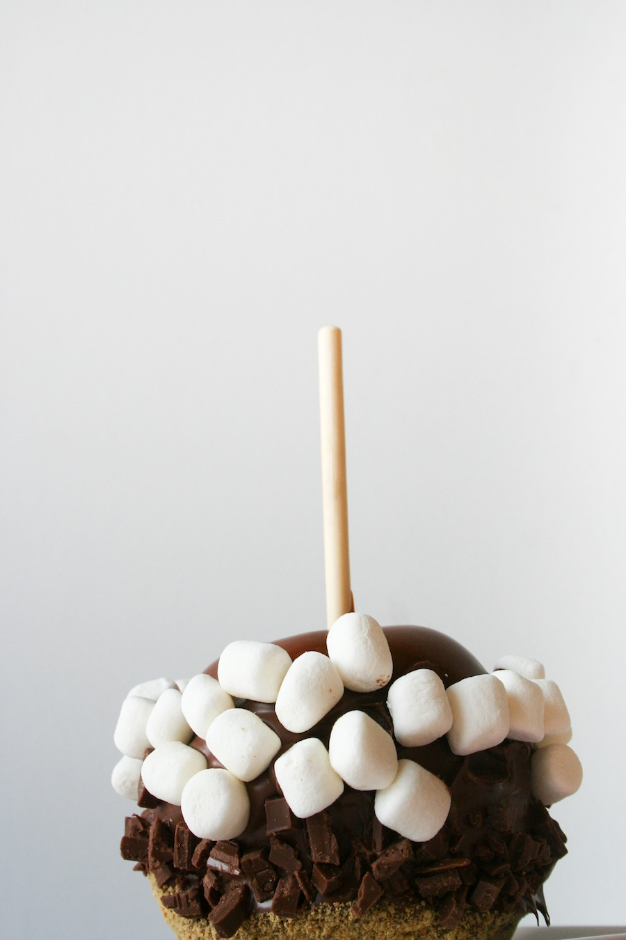 S'mores Caramel Apple Recipe // Legal Miss Sunshine