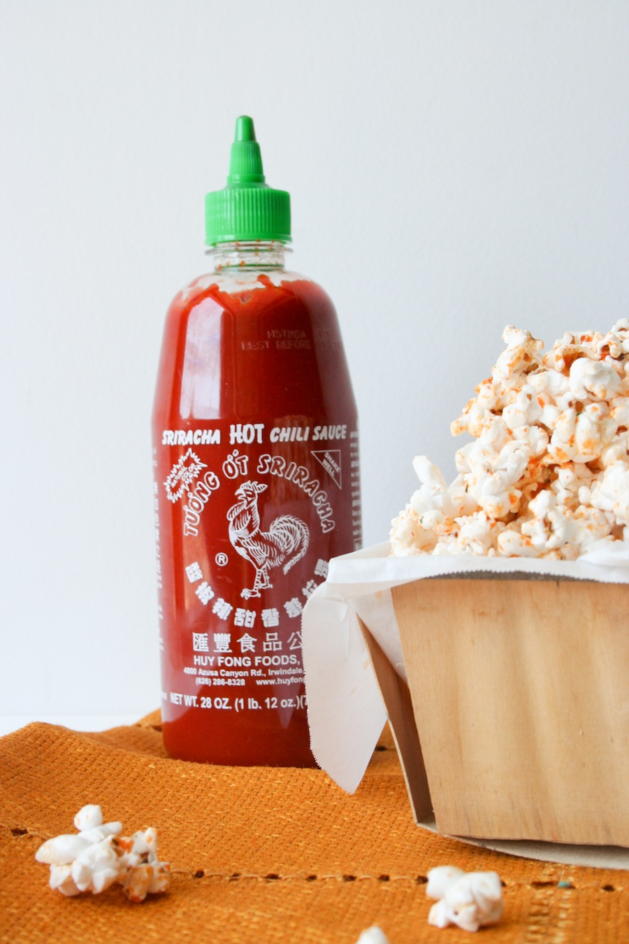Sriracha Ranch Popcorn Recipe // Legal Miss Sunshine