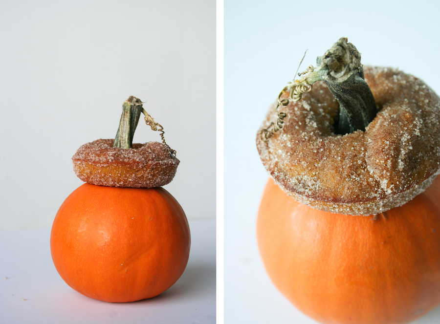 Baked Pumpkin Donut // #13NightsOfDonuts // Legal Miss Sunshine