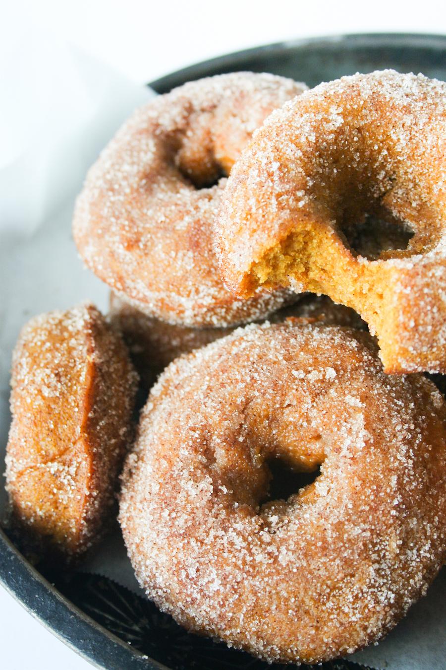 Baked Pumpkin Donut // #13NightsOfDonuts // Legal Miss Sunshine