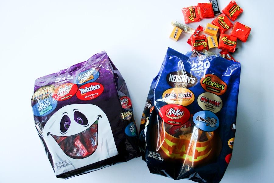 DIY Mummy Halloween Candy Bowl // Legal Miss Sunshine