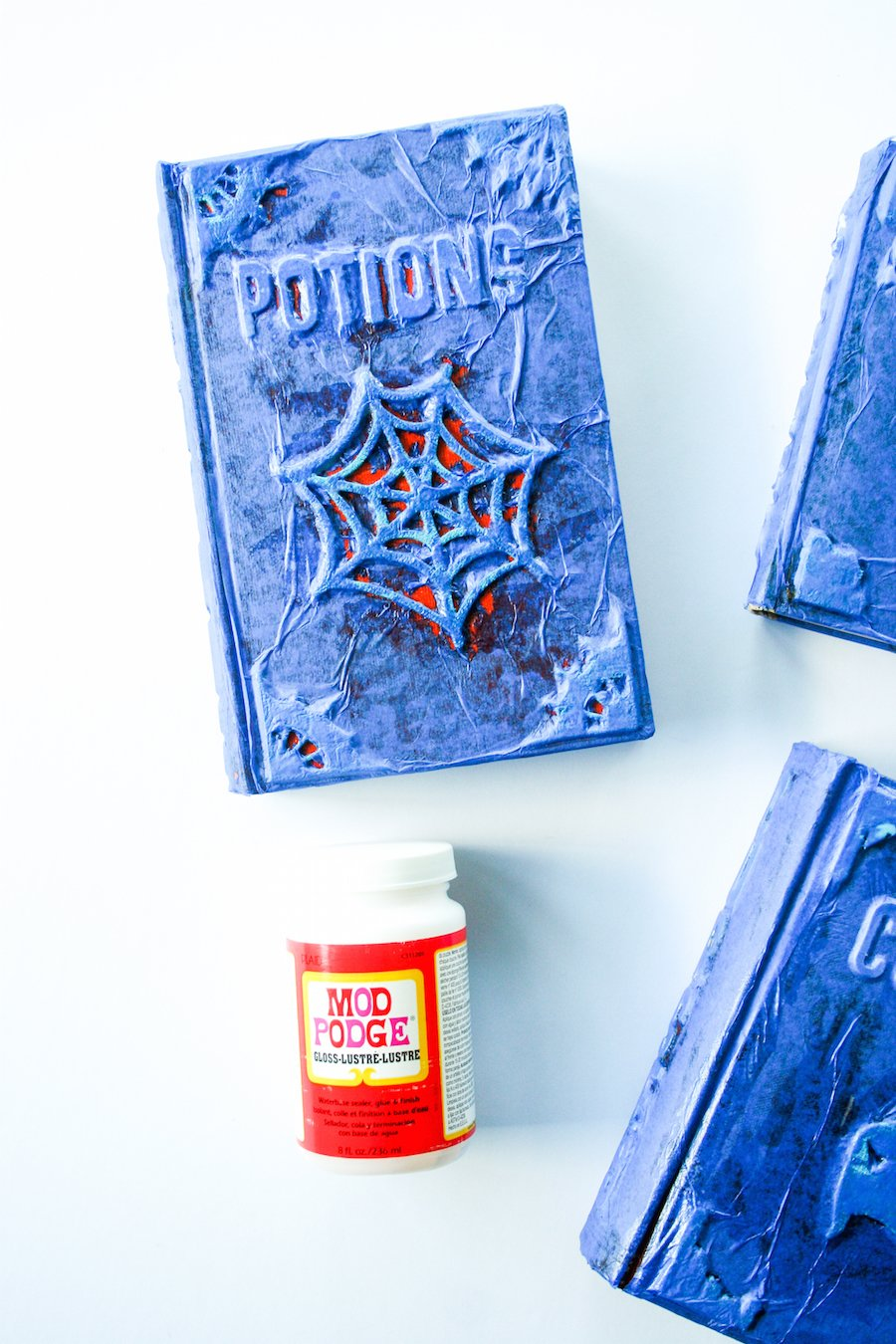 DIY Halloween Witches' Spell Book Grimoire // Salty Canary