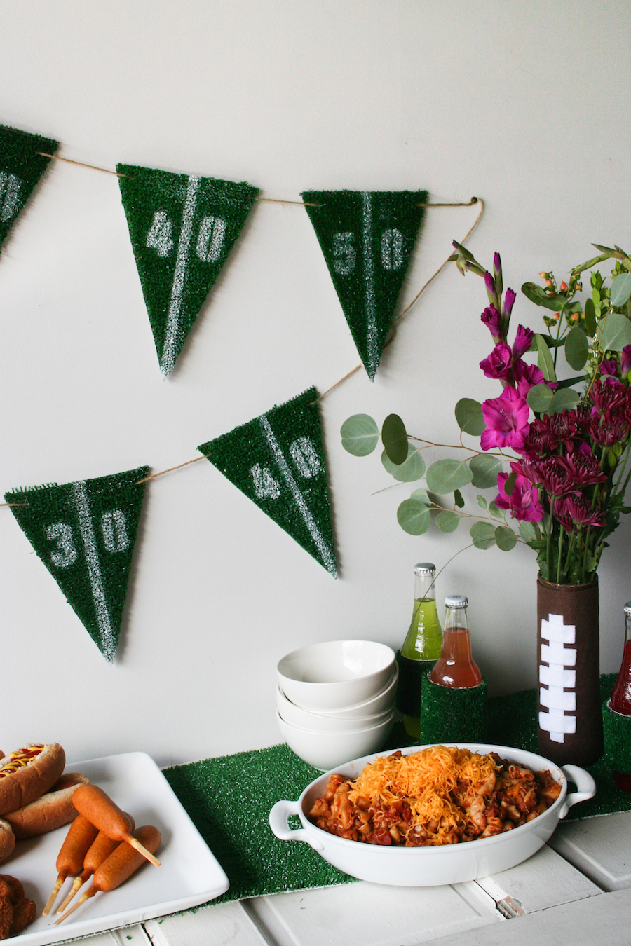 Fall Tailgating Football Party // Legal Miss Sunshine