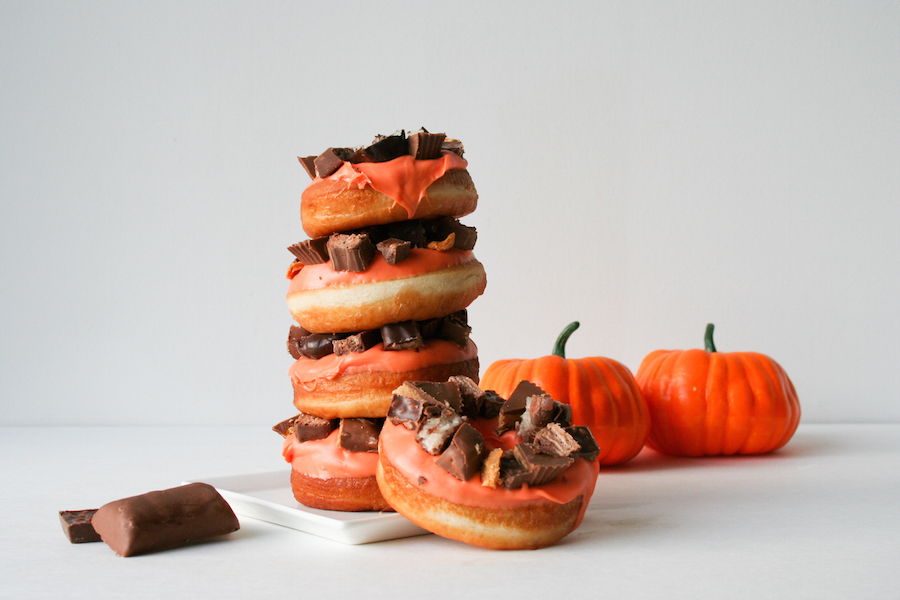 Halloween Donuts // Candy Bar Donuts // Legal Miss Sunshine