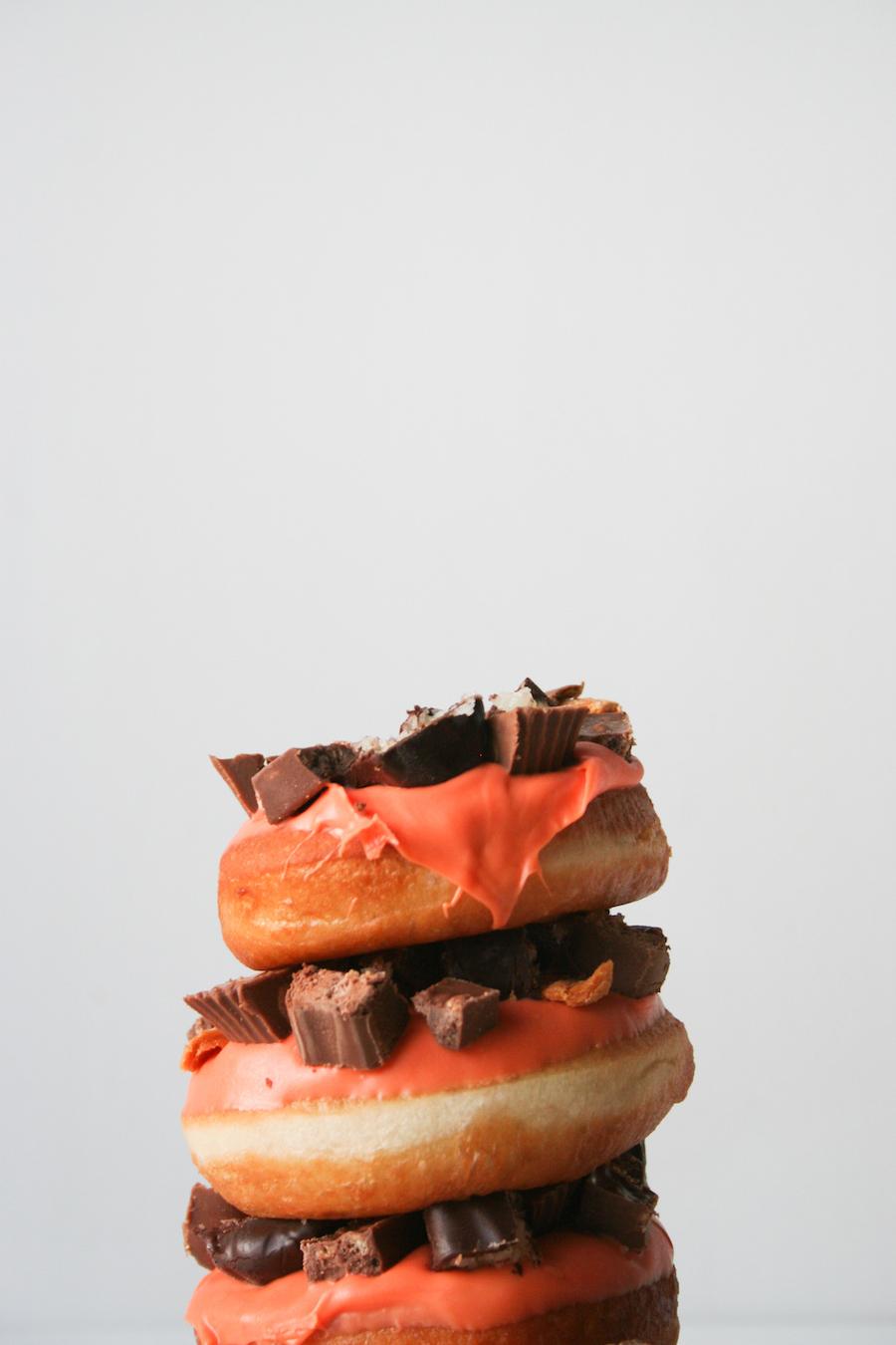 Halloween Donuts // Candy Bar Donuts // Legal Miss Sunshine
