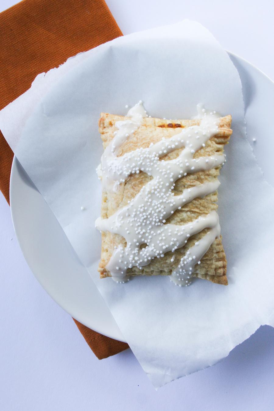 Homemade Pumpkin Pie Pop-Tarts Recipe // Legal Miss Sunshine