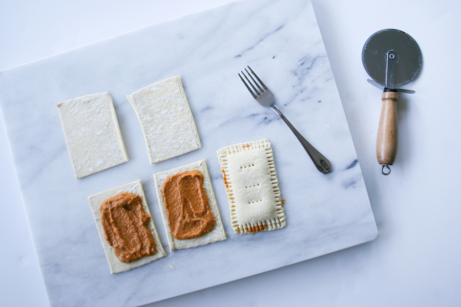 Homemade Pumpkin Pie Pop-Tarts Recipe // Legal Miss Sunshine