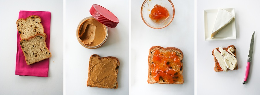 Peanut Butter and Jelly Grilled Cheese Sandwich // Legal Miss Sunshine