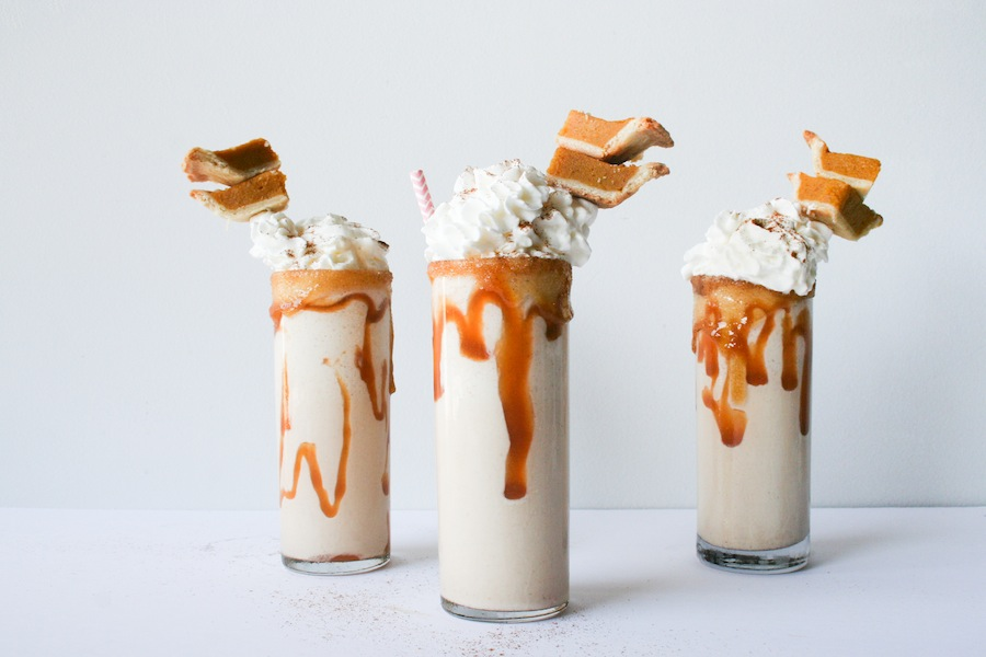 Pumpkin Pie Milkshake Recipe // Legal Miss Sunshine