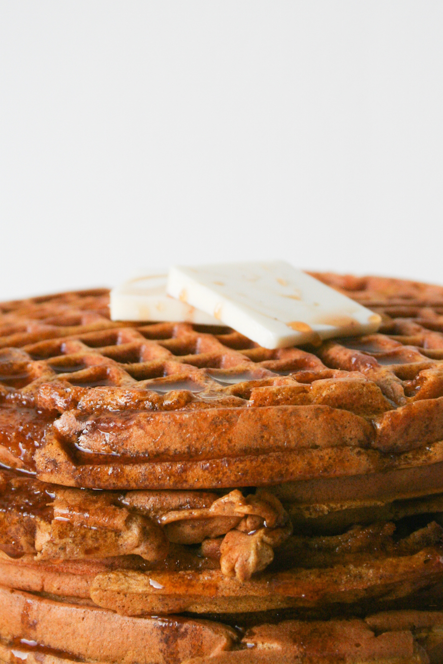 Pumpkin Waffles with Apple Cider Syrup // Legal Miss Sunshine