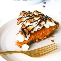 S'mores Pumpkin Pie Recipe // Salty Canary