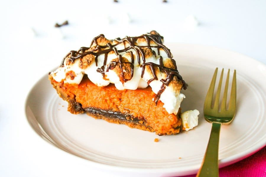 S'mores Pumpkin Pie Recipe // Salty Canary