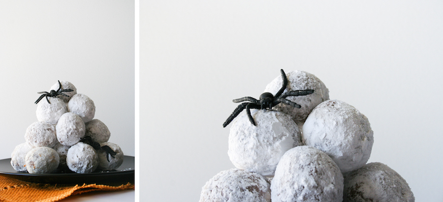 Spider Egg Donut Holes // 13 Nights of Donuts // Legal Miss Sunshine