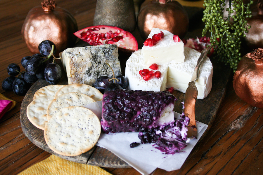 Thanksgiving Tablescape with Cheese Board Centerpiece // Legal Miss Sunshine