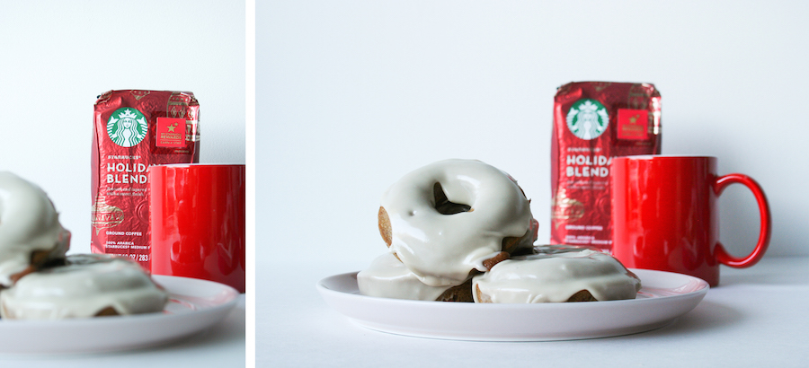Gingerbread Donuts with Maple Glaze // Legal Miss Sunshine